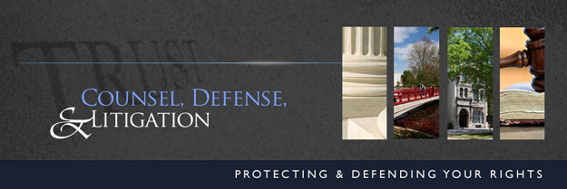 Counsel, Defense, & Litigation